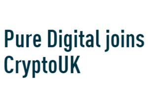 Pure Digital joins CryptoUK logo